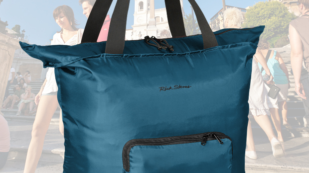 Hide-Away Tote Bag
