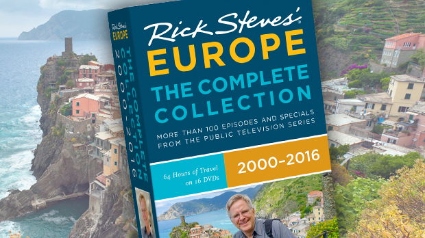Rick Steves' Europe: The Complete Collection 2000–2016 DVD Box Set