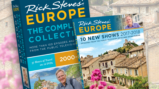 Rick Steves Europe Complete Collection Box Set 10 New Shows 2017 2018